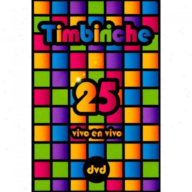 Timbiiriche 25: Vivo En Vivo (music Dvd) (amaray Case)