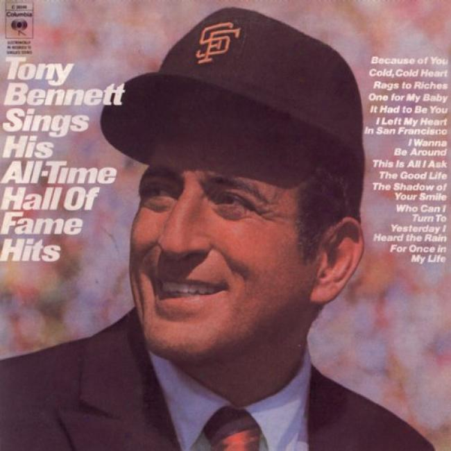 Tony Bennett Sings His All-time Hall Of Fame Hits