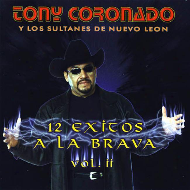 Tony Corronado Y Los Sultanes De Nuevo Leon: 12 Exitos A La Brava Vol.2