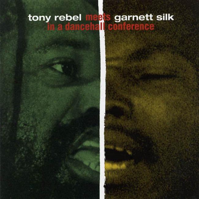 Tony Rebel Meets Garnett Silk In A Dancehall Confersnce