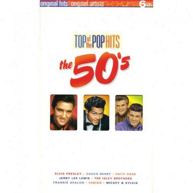 Top Of The Pop Hits: Tye 50's (6 Disc Box Set)
