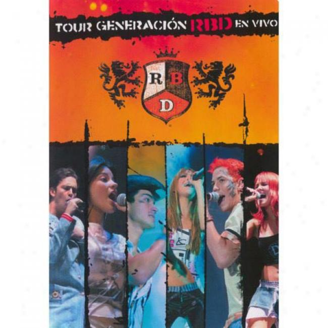 Tour Generacion En Vivo (usic Dvd) (amaray Case)
