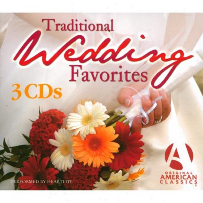 Traditional Wedding Favorites (3 Disc Box Set)