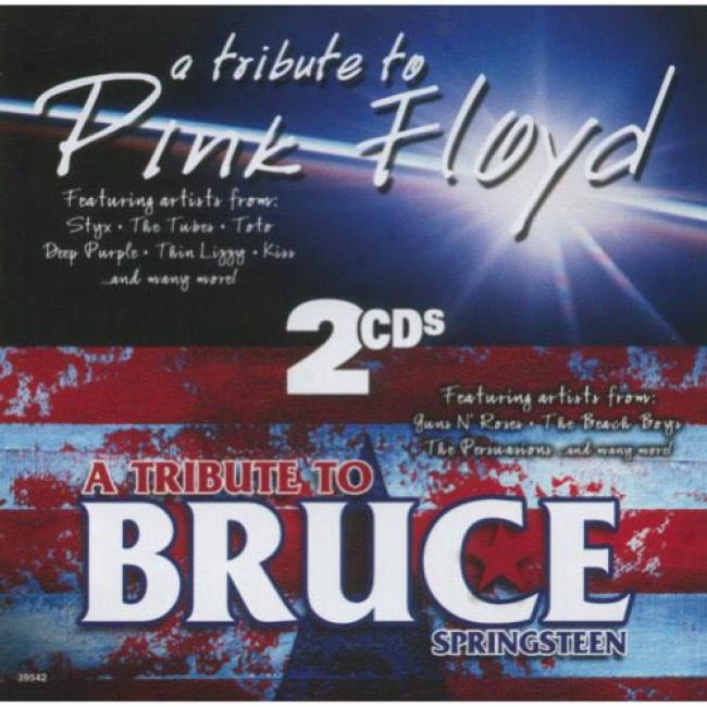 Tributes To Pink Floyd & Bruce Sp5ingsteen (2cd)
