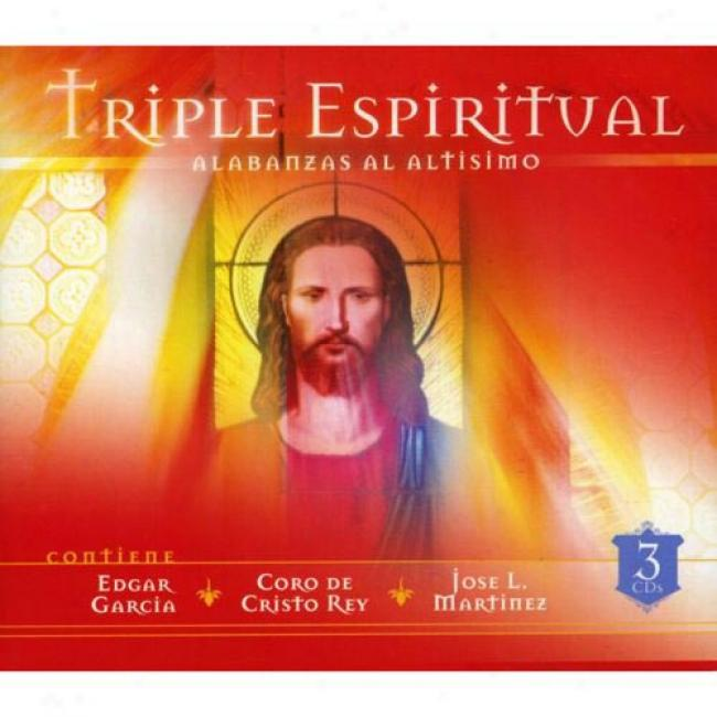 Triple Espiritual: Alabanzas Al Altismo (3 Disc Box Set)