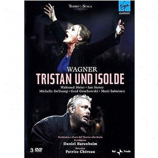 Tristan Und Isolde (3 Discs Music Dvd) (amaray Case)