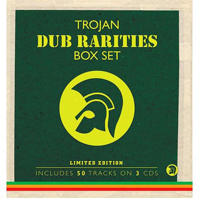Trojan Dub Rarities Box Set (limited Edition) (3 Disc Box Set)