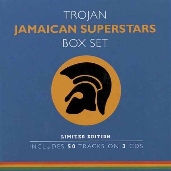 Trojan Jamaican Superstars Box Set (3cd) (limited Edition)