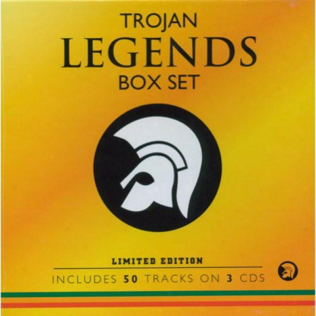 Trojan Legends Blow Set (limited Edition) (3 Disc Box Set) (remaster)