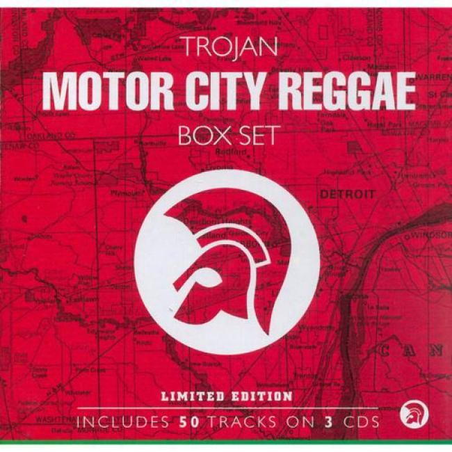 Trojan Motor City Regvae Box Set (limited Edition) (3 Disc Box Set)