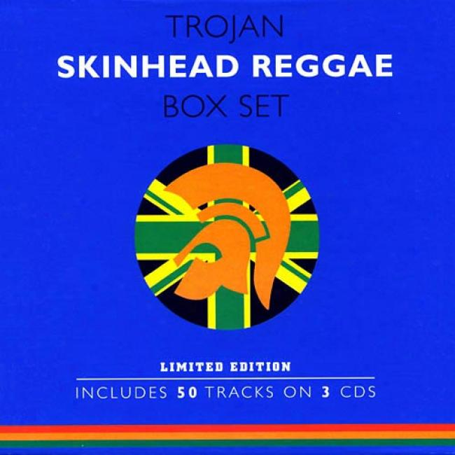 Trojan Skinhead Reggae Bo xSet (limited Edition)