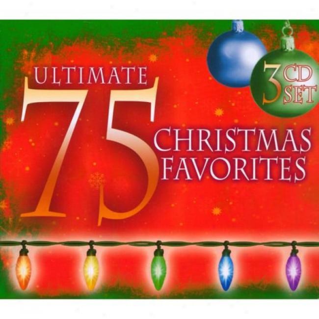 Ultimate 75 Christmas Favorites (3cd) (digi-pak)