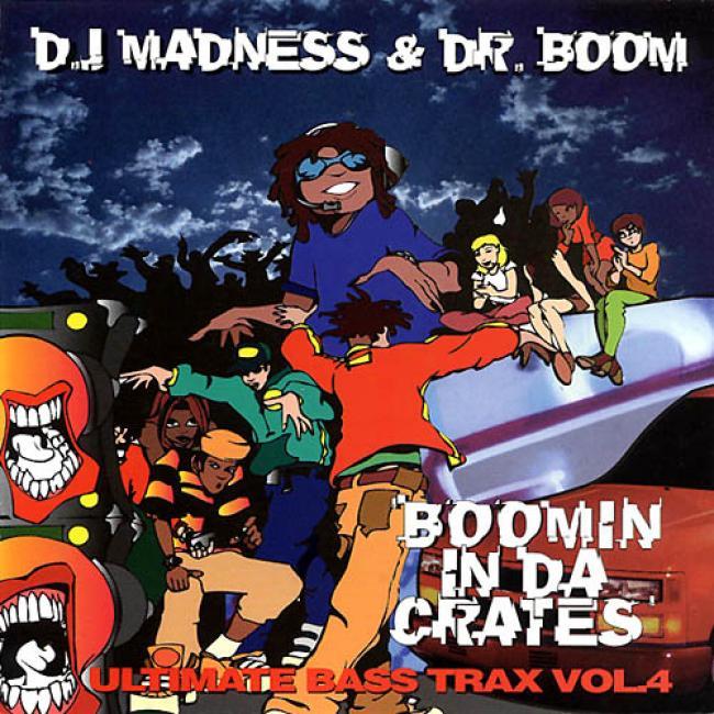 Ultimate Bass Trax, Vol.4: Boomin' In Da Crates'