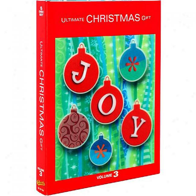Ultimate Christmas Gift, Vop.3 (2 Disc Box Set) (includes 3 Dvds)