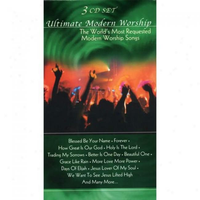 Ultimate Modern Worship: The World's Most Requested Modern Worship Songs (3 Disc Box Set)