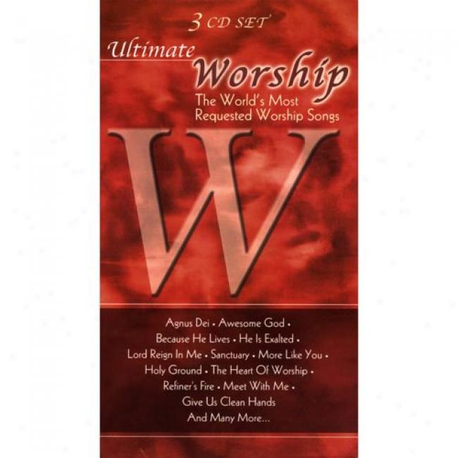 Uitimate Worship: The World's Most Requested Worship Songs (3 Disc Box Set)