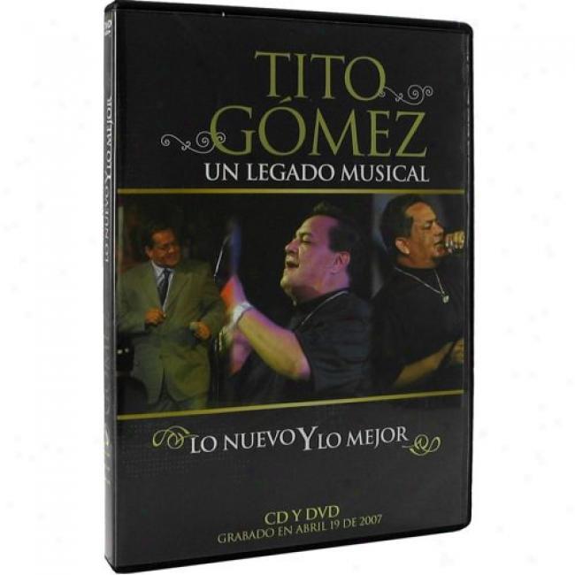 Un Legado Musical: Lo Nuevo Y Lo Mejor (music Dvd) (amaray Case)