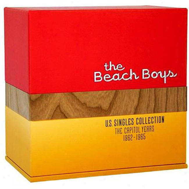 U.s. Singles Collection: The Capitol Years 1962-1965 (limited Edition) (16 Disc Box Set)