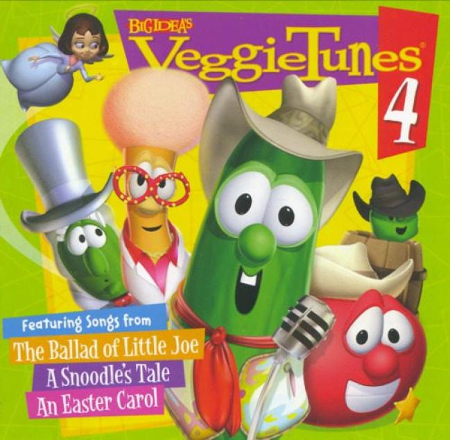 Veggietunes 4: Songs From The Ballad Of Little Joe, A Snoodle's Tale And An Easter Carol