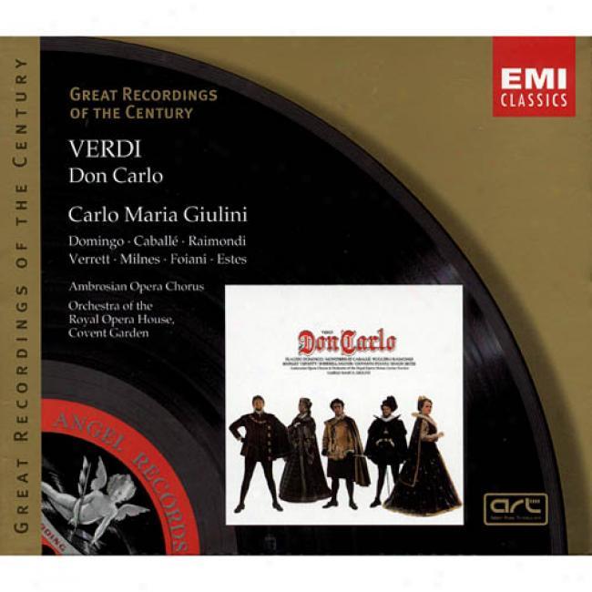 Verdi: Don Carlo (3cd) (cd Slipcase) (remaster)