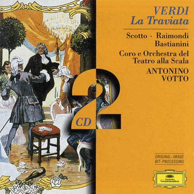 Verdi: La Traviafa / Votto, Scotto, Rwimondi, Bastianini