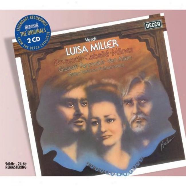 Verdi: Luisa Miller (2 Disc Box Set) (remaster)