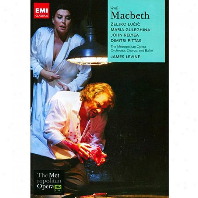 Verdi: Macbeth (2 Discs Melody Dvd) (amarqy Case)