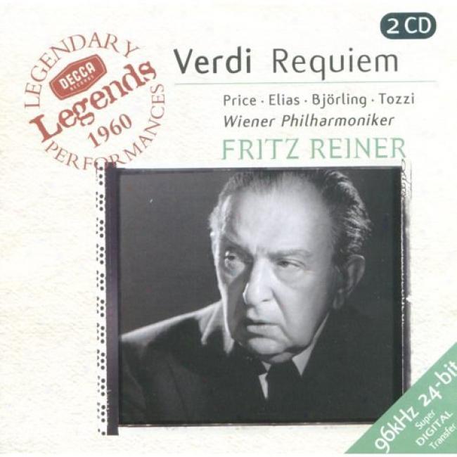 Verdi: Requiem/quattro Pezzi Sacri (2cd) (femaster)
