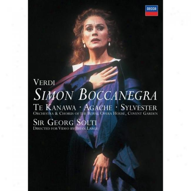 Verdi: Simon Boccanegra (music Dvd) (amaray Case)