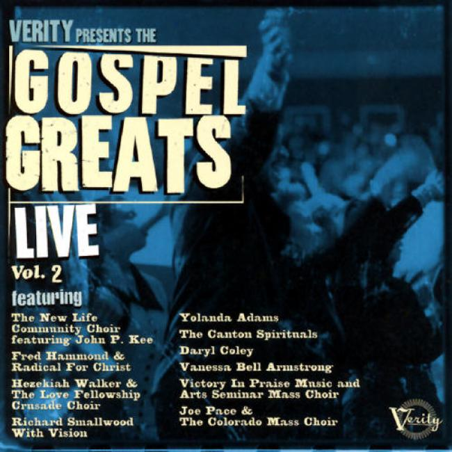 Verity Presents The Gospel Greats Live, Vol.2 (remaster)