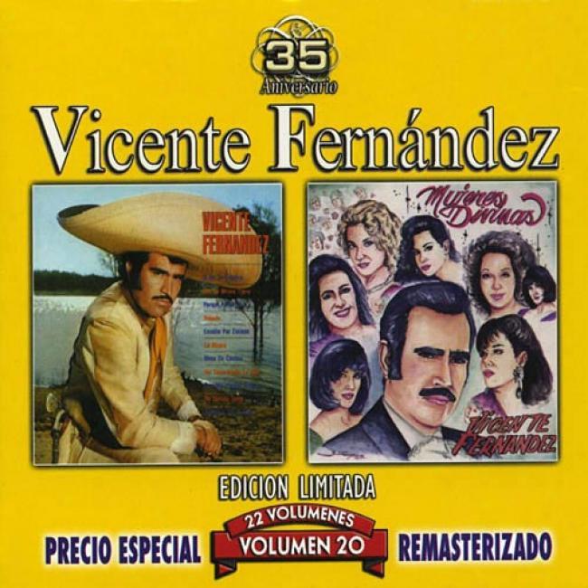 Vicente Fernandez, Vol.20: Vicente Fernandez/mujeres Divinas (edicion Limitada) (remaster)