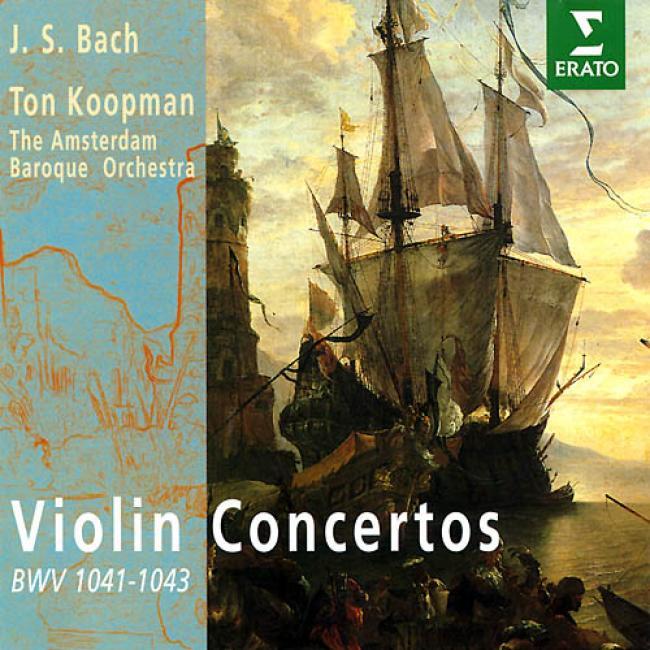 Violin Concertos: Amsterdam Baroque Orchesrta/fon Koopman