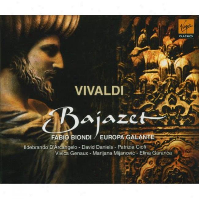 Vivaldi: Bajazet (2cd) (includes Dvd) (cd Slipcase)