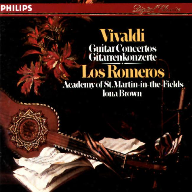 Vivaldi: Guitar Concertos/los Romerls, Brown, Asmf