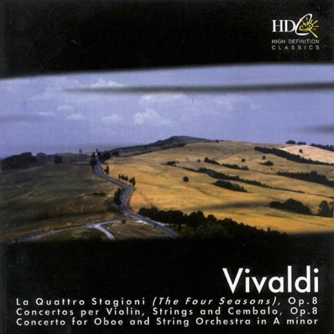 Vivaldi: La Quattro Stagioni (the Four Season) Op.8/concerto In the place of Oboe And String Orchestra In A Mihor
