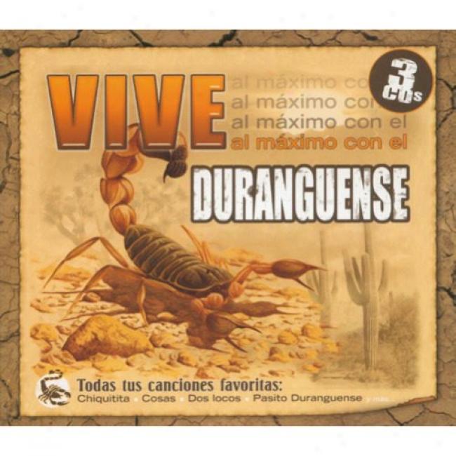 Vive Maximo Con El Duranguense (3cd) (digi-pak)