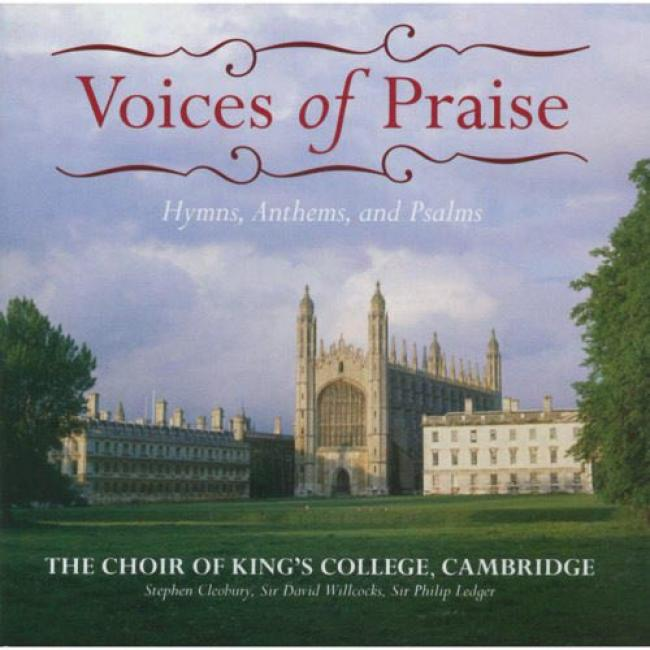 Voices Of Praise: Hymns, Anthems, And Psalms (2cd)