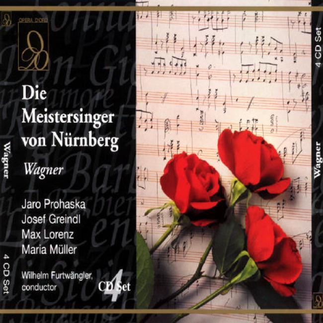 Wagner: Die Meistersinger Von Nurnberg (prohaska/greindl)