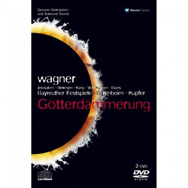 Wagner: Gotterdammerung (2 Discs Music Dvd) (amaray Case)