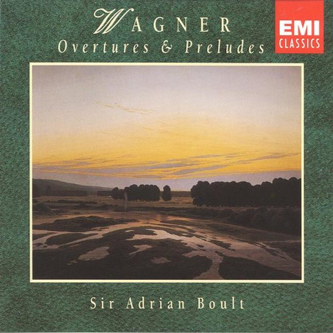 Wagner: Overt8res And Preludes (2 Disc Box Set) (remaster)