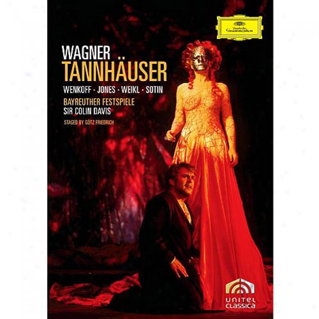 Wagner: Tannhaeuser (2 Discs Music Dvd) (amaray Case)