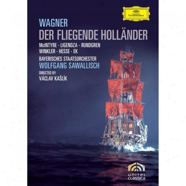 Wagner: The Flying Dutchman (music Dvd) (amaray Case)
