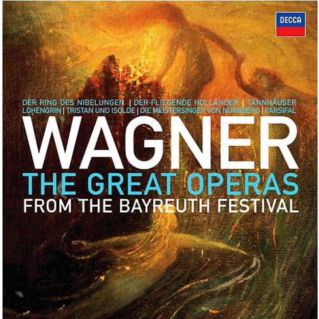 Wagner: The Great Operas - From hTe Bayreuth Feast (33 Disc Box Set)