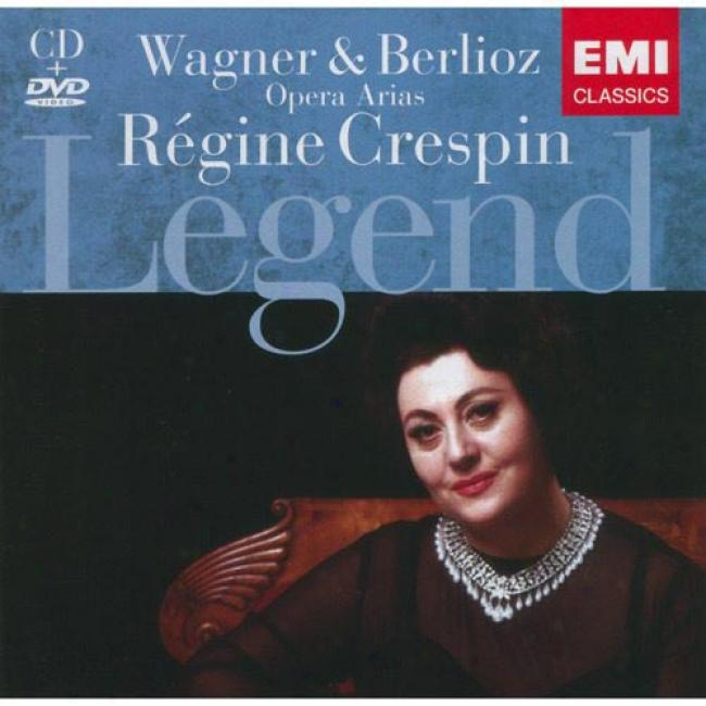 Wagner/berlioz: Opera Arias (includes Dvd) (remaster)