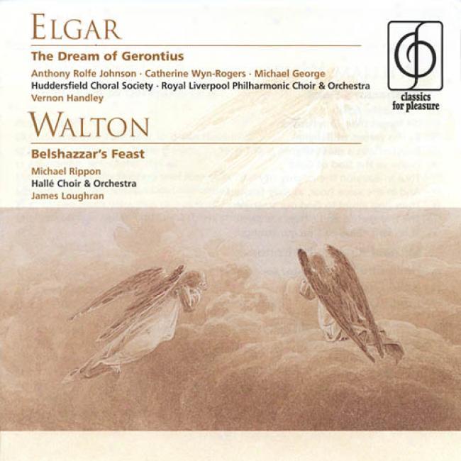 Walton: Belshazzar's Feast/elgar: The Dream Of Gerontius Op.38 (2dc) (remaster)