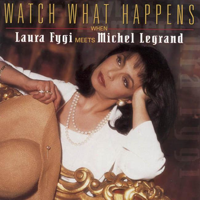 Wwtch What Happens When Laura Fygi Meets Michel Legrand