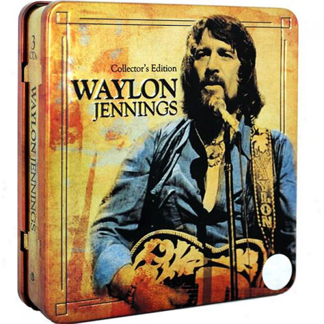Waylon Jennings (collector's Edition) (3 Disc Driver's seat Set)