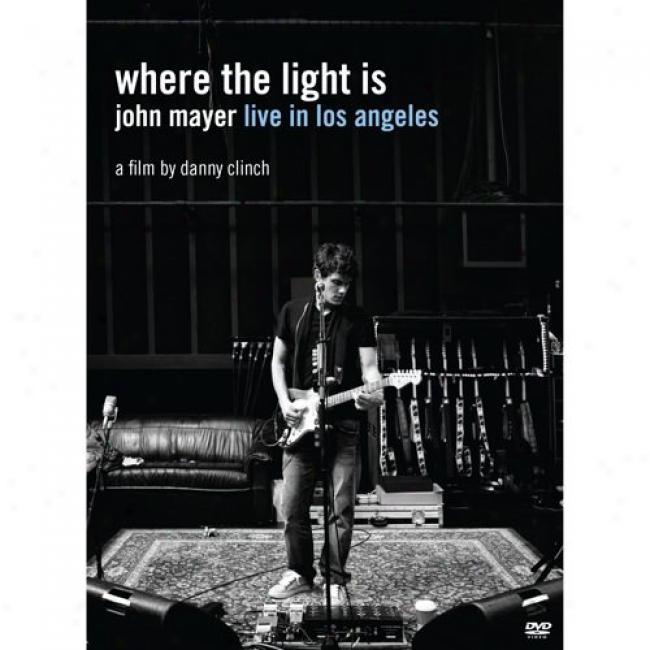 Where The Light Is: Live In Los Angeles (music Dvd)