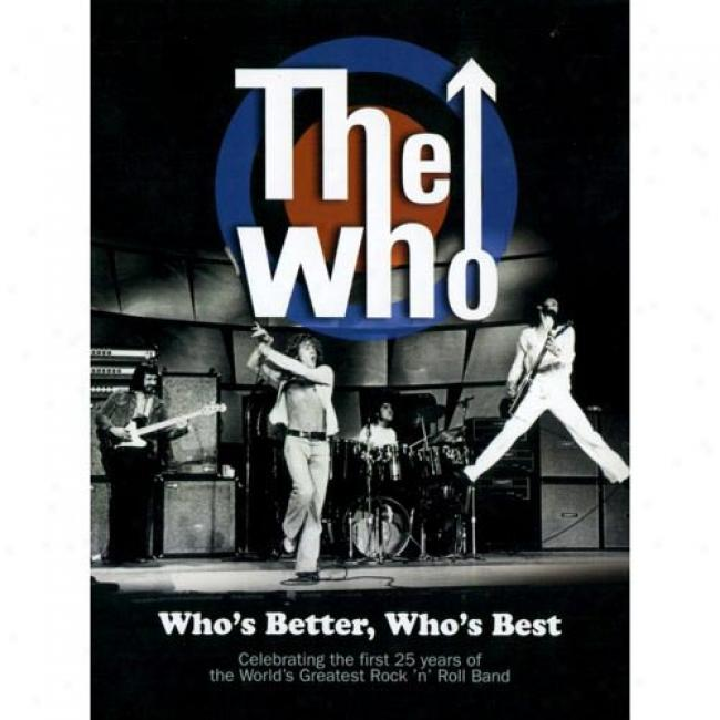 Who's Better, Who's Best (music Dvd) (digi-pak)
