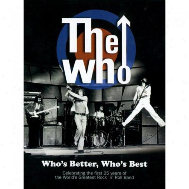Who's Better, Who's Best (music Dvd) (digi-pak)